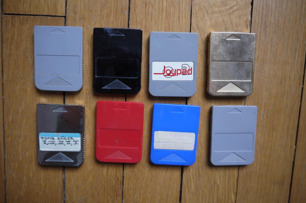 (ESTIM) Cartes mémoires PS1/PS2 P1120815