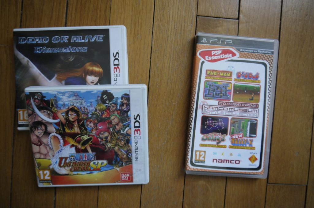 JE REÇOIS, JE DONNE: okami,samourai shodown switch/wonderboy PS4/tatsunoko wii/shovel knight 3DS - Page 24 P1130210
