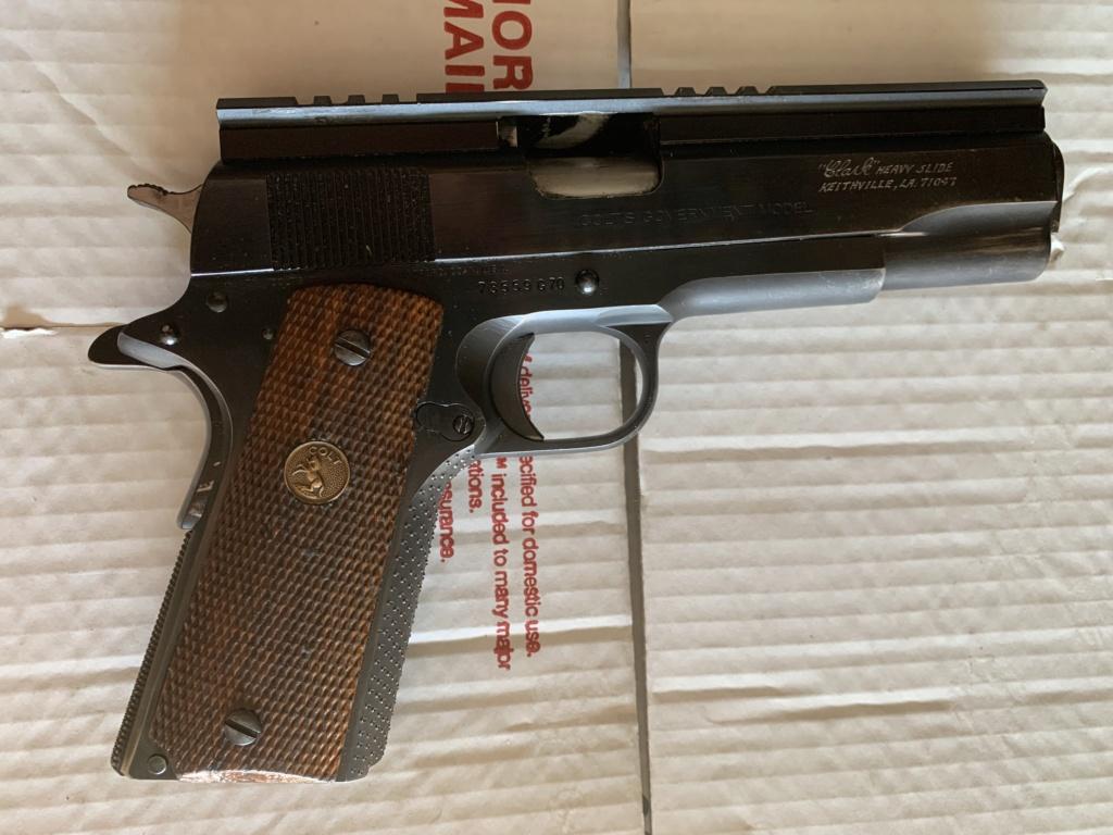 SOLD: Clark Colt series 70 45 acp Heavy Slide 9aad8e10