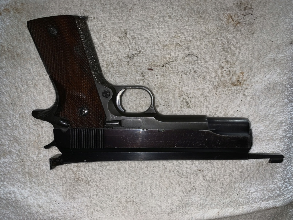 Off The Market: AMU built 1911 45 Pistol  E0eba710