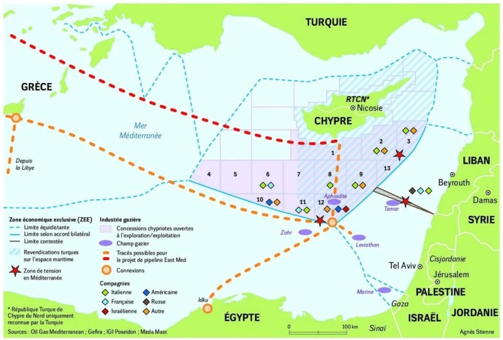 Conflit Turquie-Grèce en vue Gaz-en10