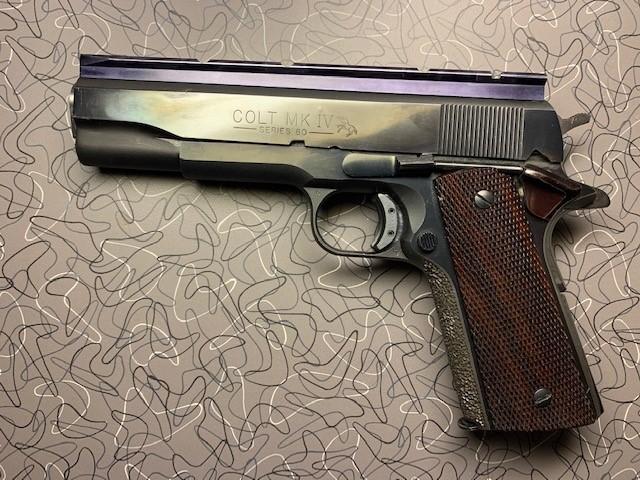 SPF 1911 Colt Bullseye Gun w/issues Colt110
