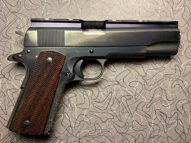 SPF 1911 Colt Bullseye Gun w/issues Colt210
