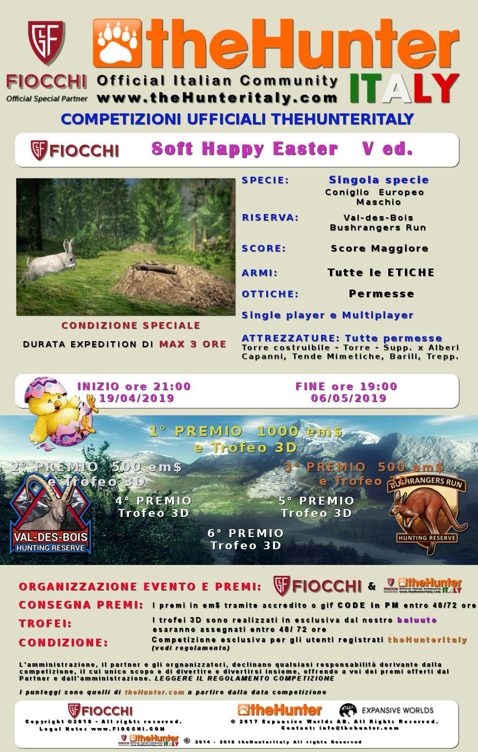 [CONCLUSA] Competizioni Ufficiali theHunterItaly - Soft Happy Easter V edition. - Coniglio Europeo 3okfio10