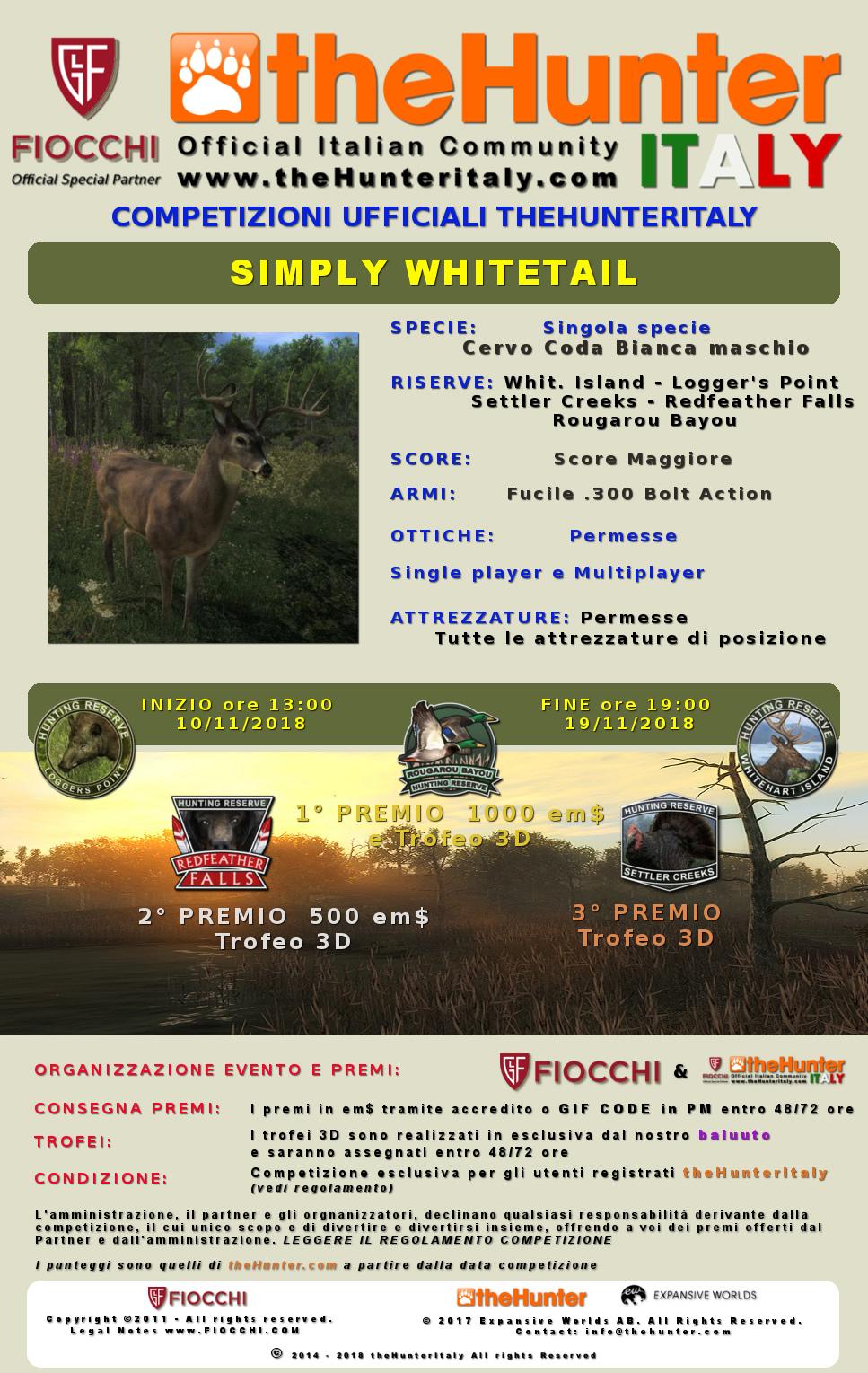[CONCLUSA] Competizioni Ufficiali theHunterItaly - Simply Whitetail - Cervo Coda Bianca Coda_b12