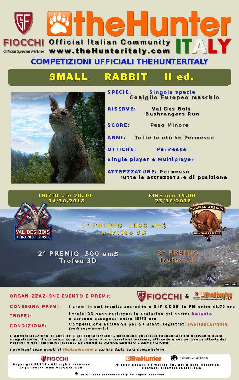 [CONCLUSA] Competizioni ufficiali TheHunteritaly - Small Rabbit II ed.- Coniglio Europeo - Conigl10