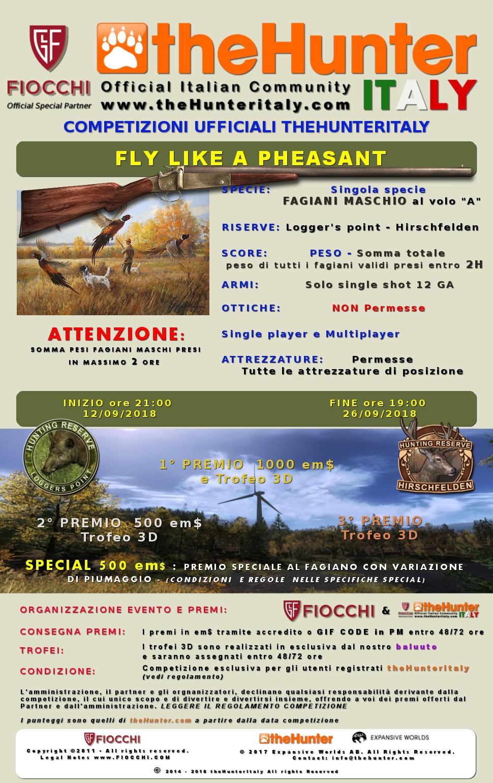 [CONCLUSA] Competizioni Ufficiali theHunterItaly - Fly Like a Pheasant - Fagiano Fagian11