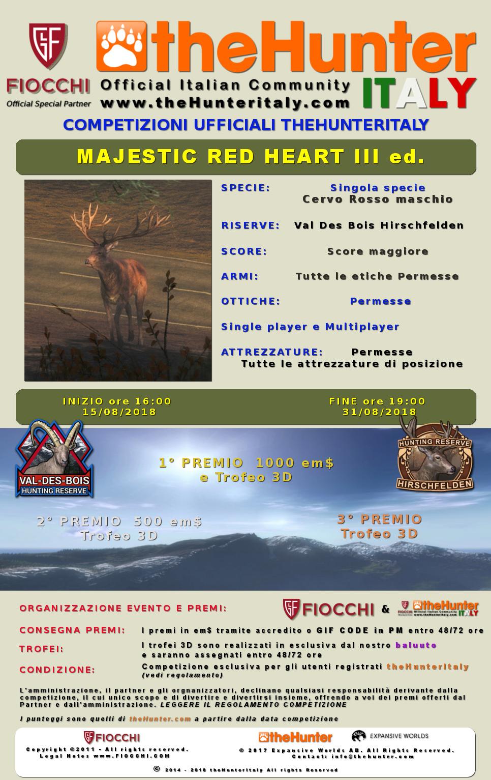 [CONCLUSA] Competizioni Ufficiali theHunterItaly - Majestic Red Heart III ed. - Cervo Rosso Majest13