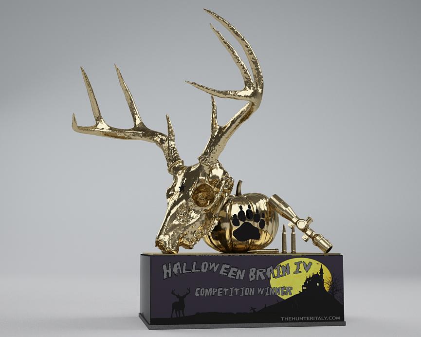 [CONCLUSA] Competizioni Ufficiali theHUnterItaly - Halloween Brain IV ed. - Cervo Mulo Tipico - Oro_qu10