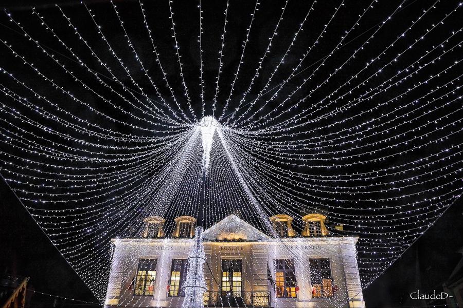 Illuminations à Auray Noël 2019 Illay310