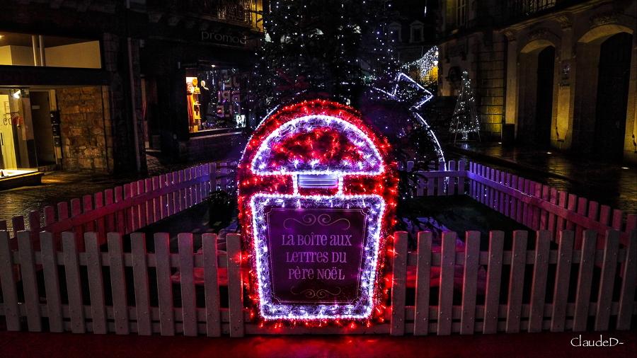 Illuminations à Auray Noël 2019 Illay410
