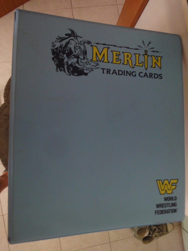 Album raccoglitore card 1992 merlin WRESTLING COMPLETO Wrestl10