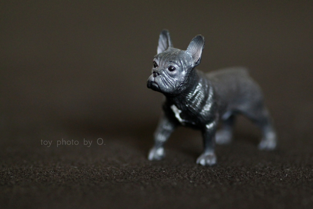 Bullyland setter and frenchie Bully_11