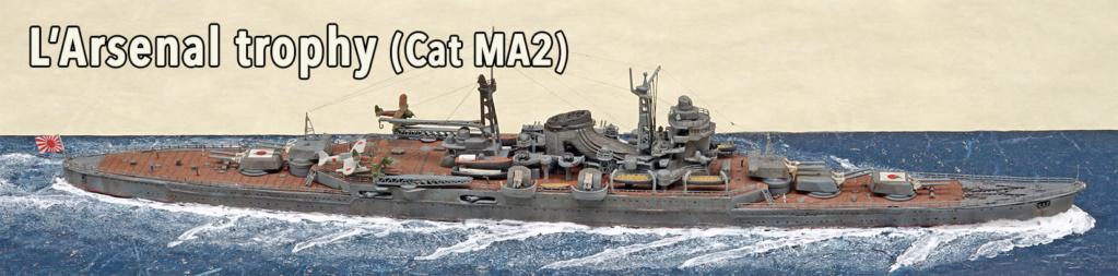 Croiseur Mikuma au 1/700 de chez Tamiya - Page 2 72401910
