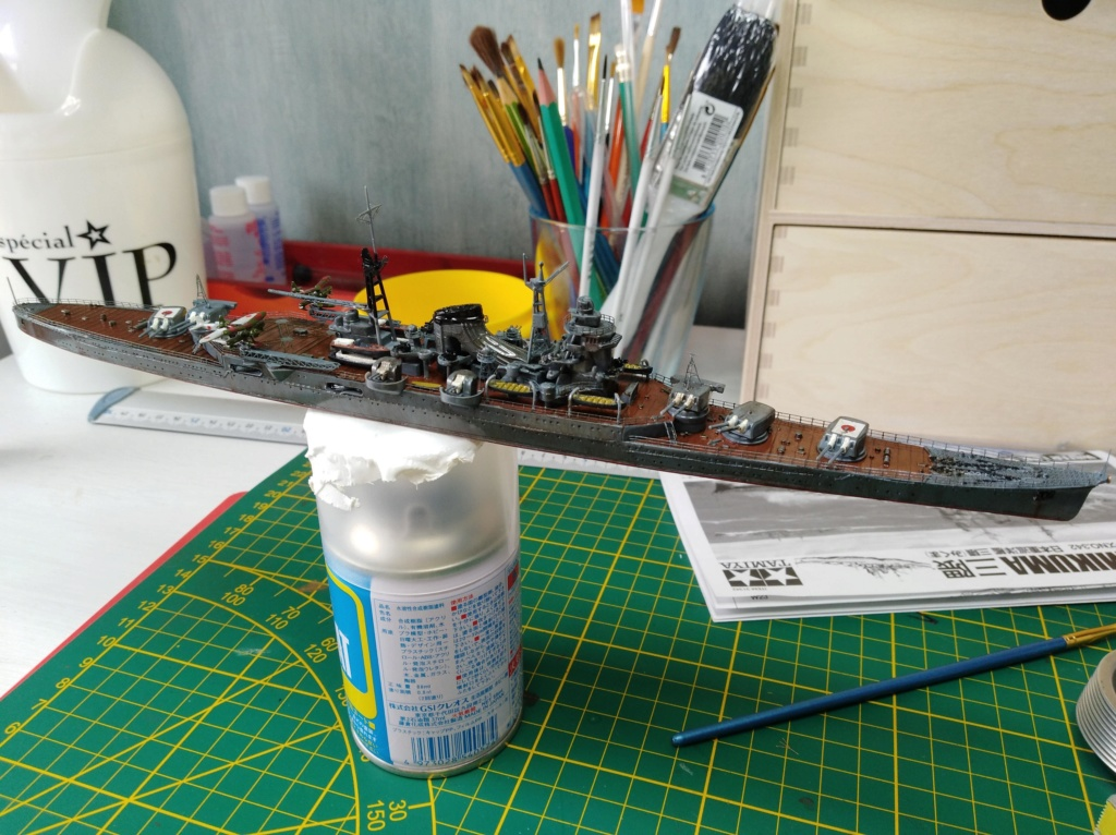 Croiseur Mikuma au 1/700 de chez Tamiya Img_2032