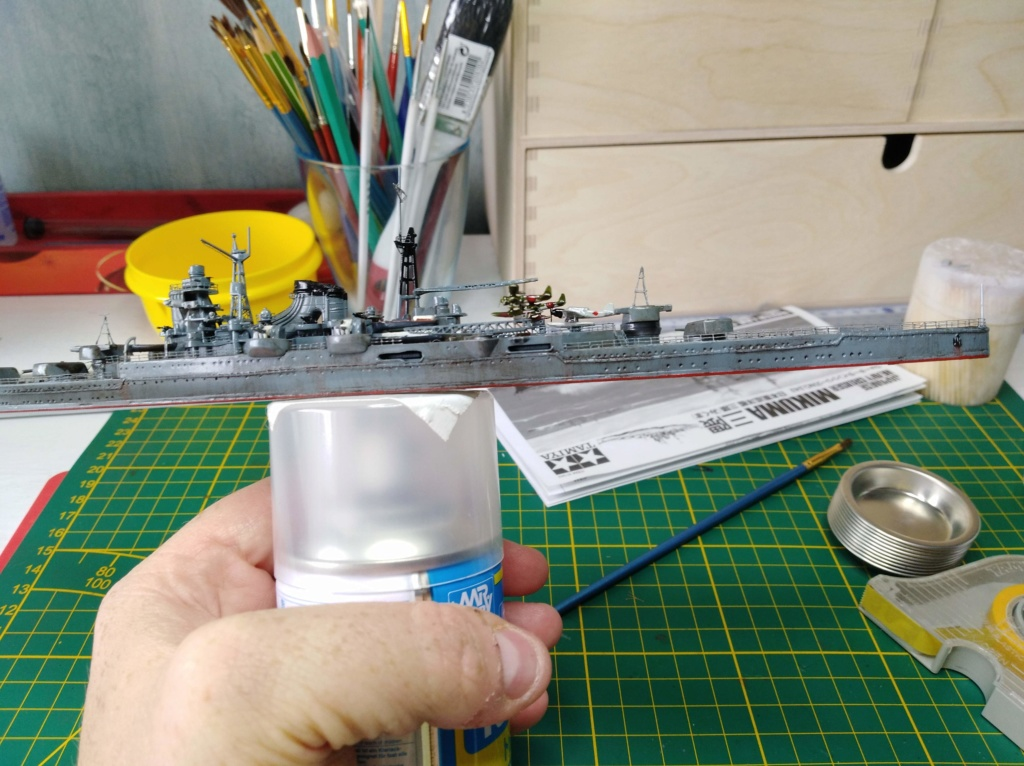 Croiseur Mikuma au 1/700 de chez Tamiya Img_2035
