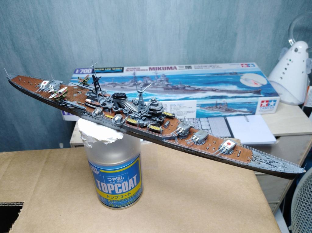 Croiseur Mikuma au 1/700 de chez Tamiya Img_2037
