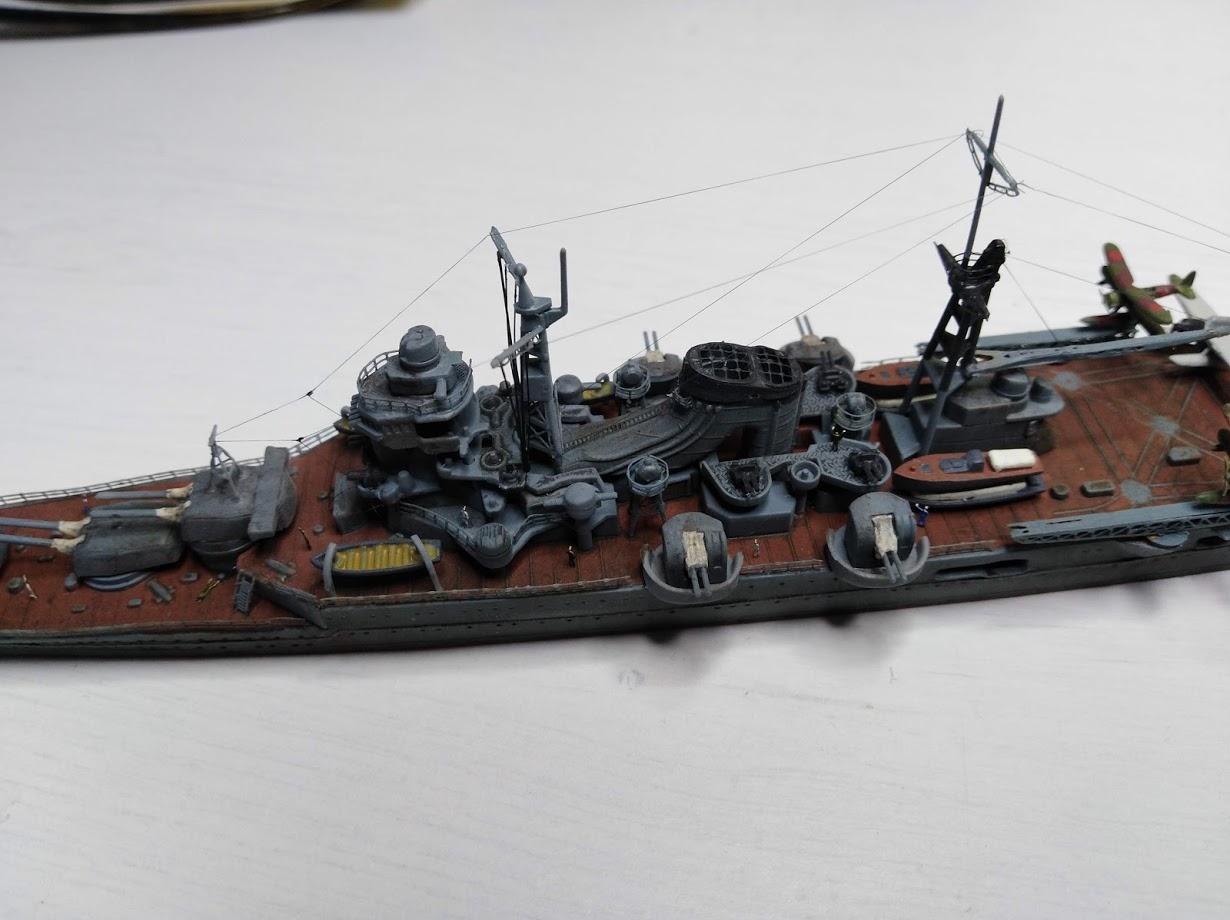 Croiseur Mikuma au 1/700 de chez Tamiya - Page 2 Img_2039