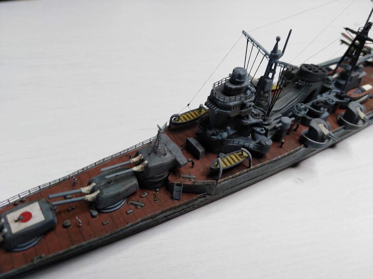 Croiseur Mikuma au 1/700 de chez Tamiya - Page 2 Img_2040