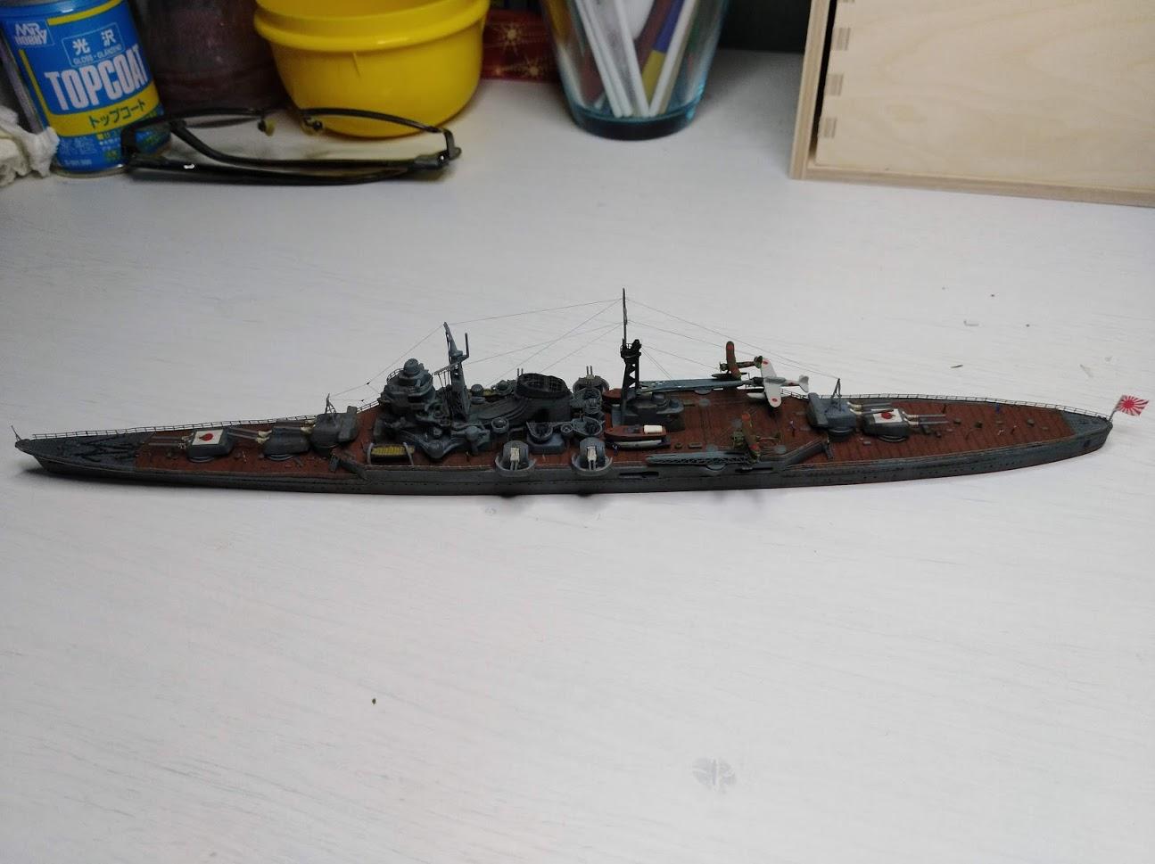 Croiseur Mikuma au 1/700 de chez Tamiya - Page 2 Img_2043
