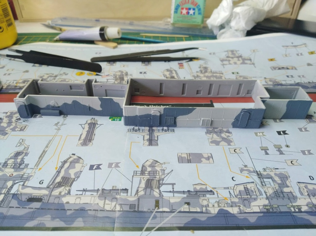 USS Fletcher 1/144 Revell Platinum edition - Page 2 Img_2103
