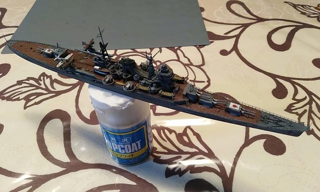 Croiseur Mikuma au 1/700 de chez Tamiya - Page 2 Receiv10