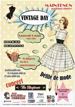 VINTAGE  DAY - 8 JUIN - MAINTENON 00115