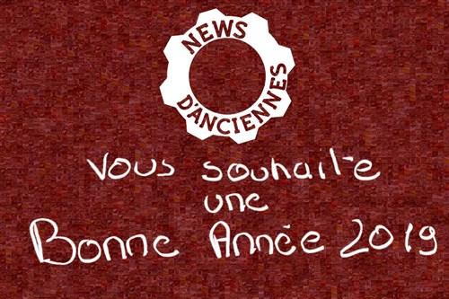 Les voeux 2019 sur Le Rendez-Vous de la Reine 84451310