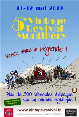 Vintage Revival Montlhéry , 11/12 mai 2019 Affich12