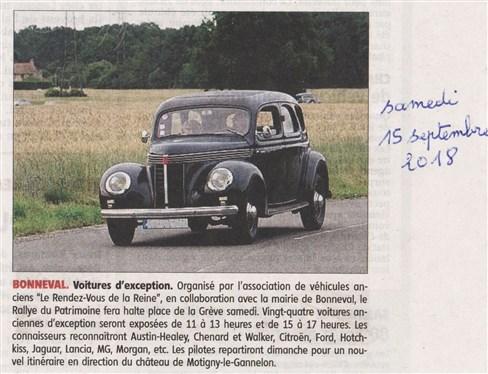 Le Rendez-Vous de la Reine dans la presse locale ou nationale - Page 4 B310