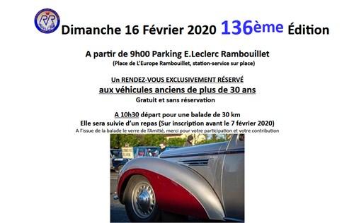 136e Rendez-Vous de la Reine - Rambouillet, 16 février 2020 C111
