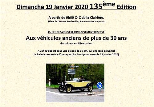 135ème Rendez-Vous de la Reine - Rambouillet le 19 janvier 2020 Captur14