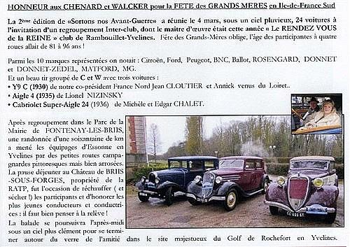 Fêtes des Grand-Mères Automobiles le dimanche 4 mars 2018 - Page 2 Gm410