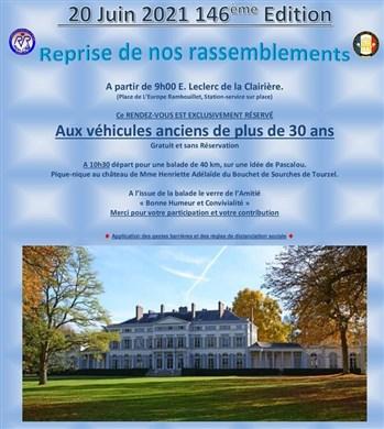 146ème Rendez-Vous de la Reine - Rambouillet, le 20 juin 2021 Image014