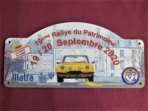 10e Rallye du Patrimoine, 19/20 septembre 2020 - Page 2 Imgp1325