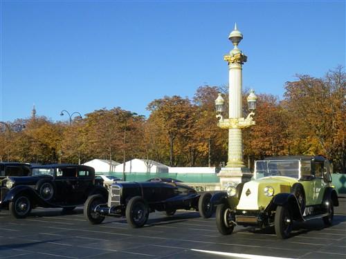 Parade des 120 ans du Salon de l'Auto le dimanche 30 sept 2018, Place de la Concorde Imgp5135