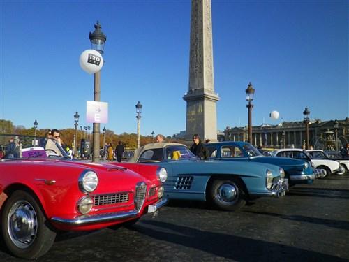 Parade des 120 ans du Salon de l'Auto le dimanche 30 sept 2018, Place de la Concorde Imgp5144