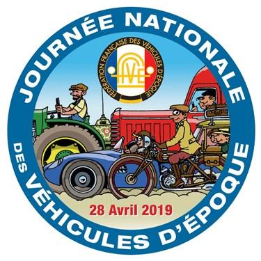Journée Nationale des Véhicules d'Epoque - 28 avril 2019 Logo_j10