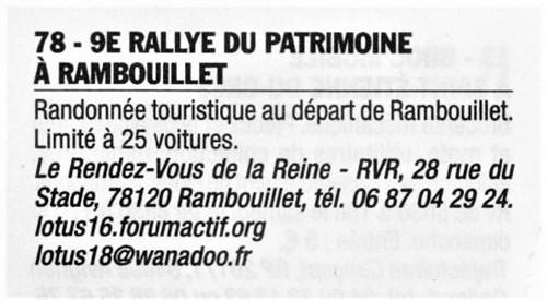 9e Rallye du Patrimoine, 14/15 septembre 2019 Lva110