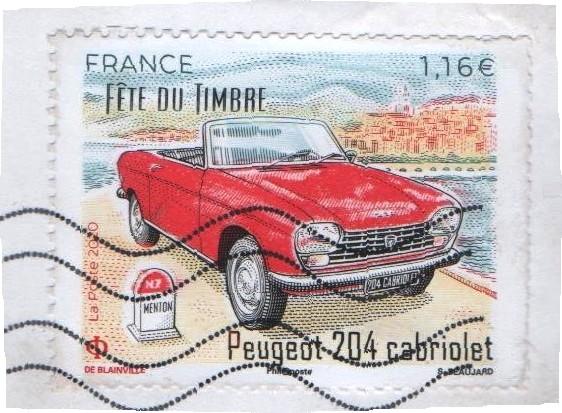 Automobile ancienne et philatélie Tim10