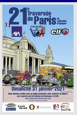 Traversée de Paris Hivernale, 31 janvier 2021. Trapa210