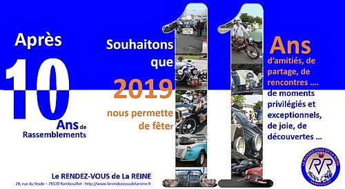 Les voeux 2019 sur Le Rendez-Vous de la Reine Voeux110