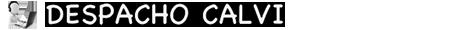 DESPACHO CALVI