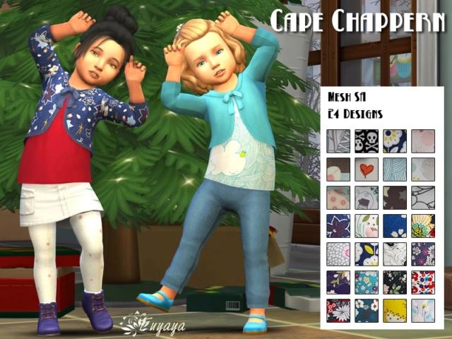 Les téléchargements sur Sims Artists - Page 38 Cape-c11