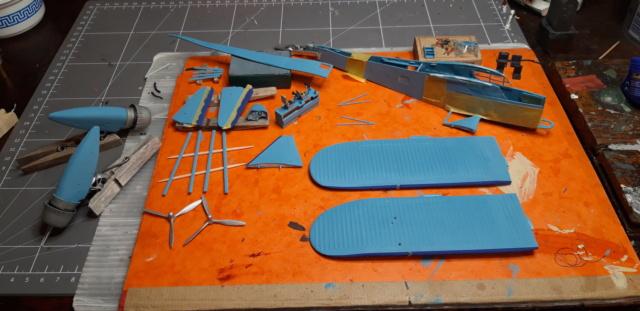 POTEZ 540 . Mister Craft Hobby .1/72ème 20210511