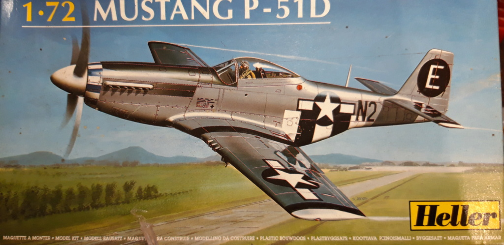 From the box  - P51 D Heller 1/72ème 20210632