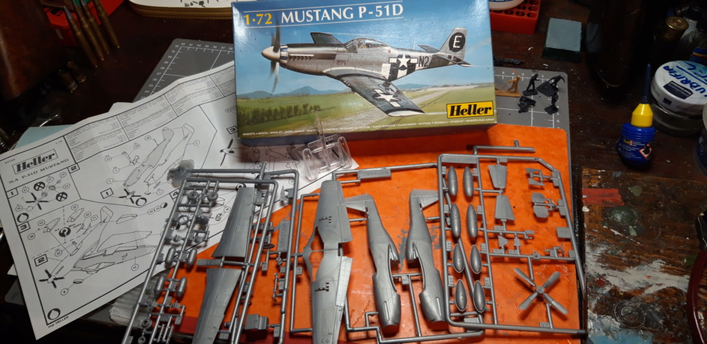 From the box  - P51 D Heller 1/72ème 20210633