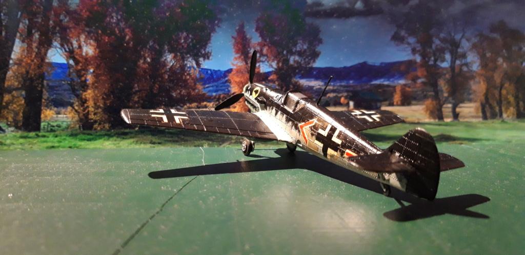Curtiss H75 , Caudron 714 , ME109E . 1970 echelle 1/72ème Ar_gau10