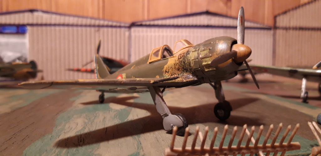 Curtiss H75 , Caudron 714 , ME109E . 1970 echelle 1/72ème B152_a10