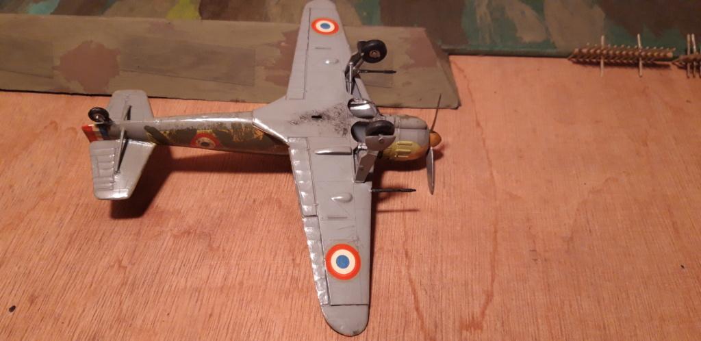 Curtiss H75 , Caudron 714 , ME109E . 1970 echelle 1/72ème B152_d10